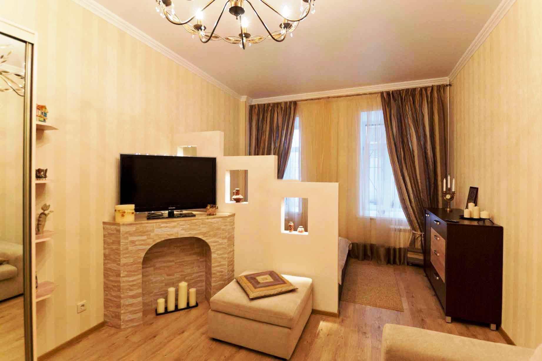 Эконом дизайн однокомнатной квартиры